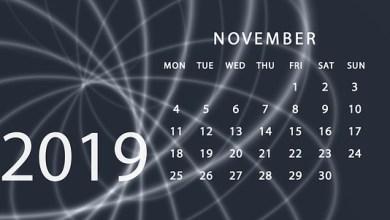 Eventos noviembre 2019