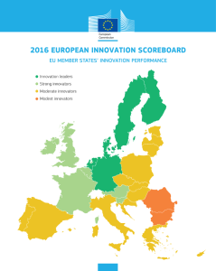 innovacion en Europa
