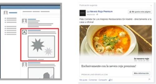 Dónde aparece mi anuncio publicitario en Facebook_muroPC_1