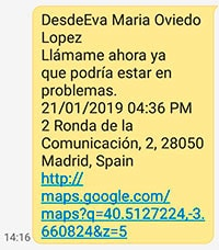 SMS SOS
