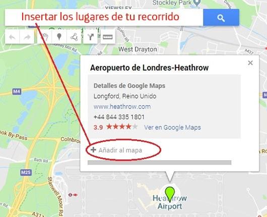 añadir al mapa