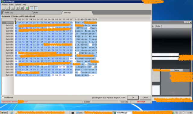 Análisis y descubrimiento de comunicación con Backend (Webservices) imagen