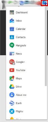 ShorcutsGoogle - Lista