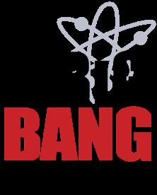 Logo de la serie The Big Bang Theory, que ha ayudado a popularizar la Física