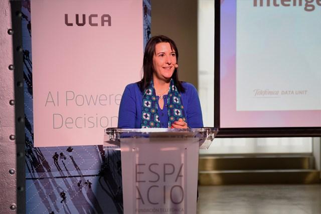 Figura 1: Elena Gil, CEO de LUCA