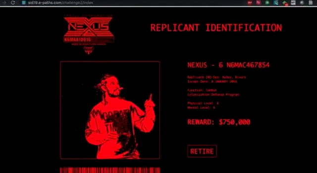 Security Innovation Day 2019 - Replicant identification