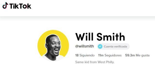 Will Smith en Tik Tok