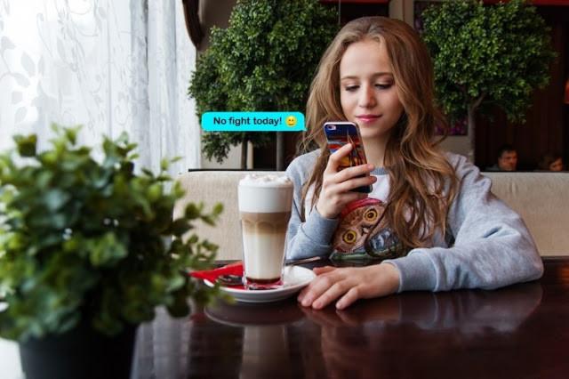 Figura 2: Tú café de la mañana con el informe de riesgo de discutir con tu novio. Fuente.