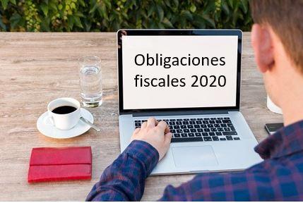 Obligaciones fiscales año 2020