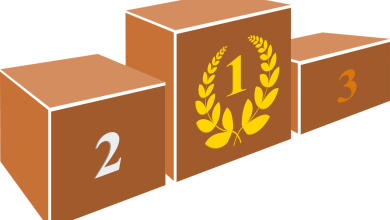 Pódium de sectores