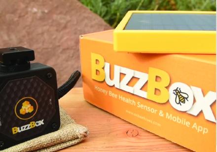 Figura 2: Sensores de zumbidos que se introducen en las colmenas