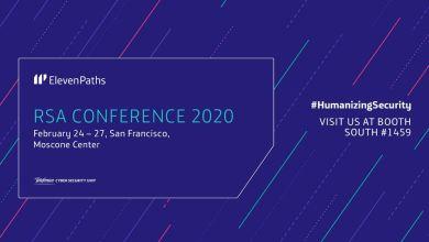 ElevenPaths en la RSA Conference 2020, el evento referencia en ciberseguridad