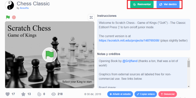 Scratch Chess - Game of Kings