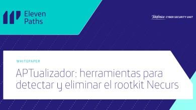 APTualizador: herramientas para detectar y eliminar el rootkit Necurs