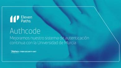 Authcode: mejoramos nuestro sistema de autenticación continua con la Universidad de Murcia