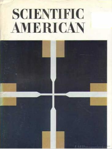 Figura 2. Portada del número de Scientific American de octubre de 1970 donde se publicó por primera vez el Juego de la Vida de Conway. Fuente.