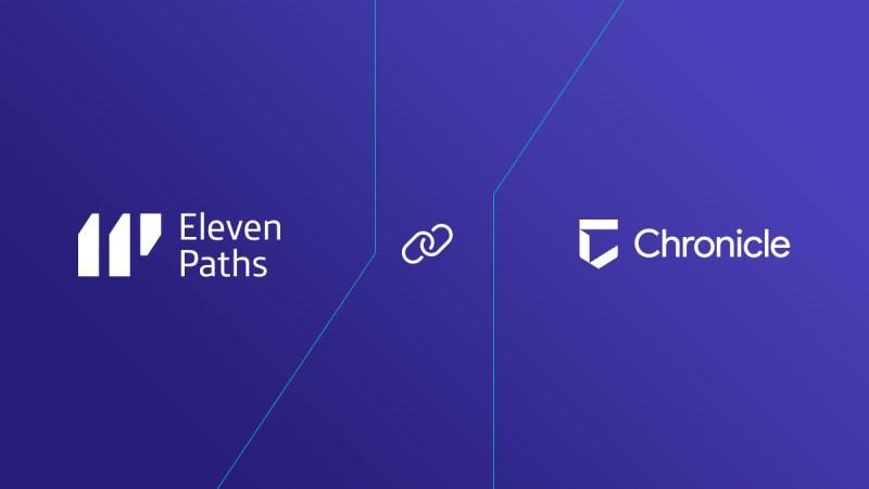 ElevenPaths y Chronicle se unen para crear nuevos servicios avanzados de seguridad gestionada
