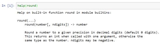 Figura 1: ejemplo de uso de la función help()