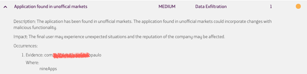 Imagen 7: Muestra de una aplicación encontrada en otros markets no oficiales