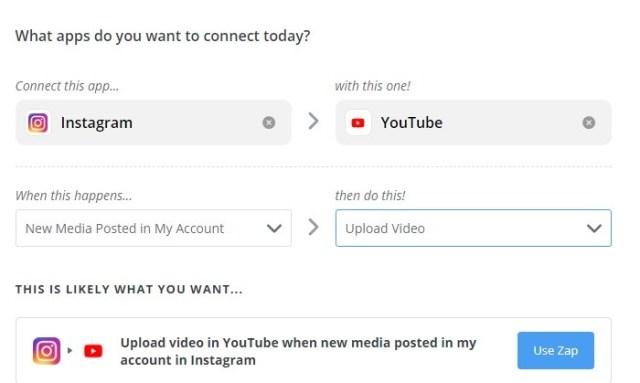 Conectar Instagram con Youtube