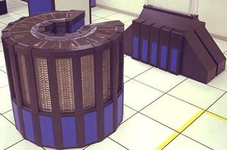 Figura 1. Superordenador Cray-2. Fuente.