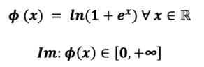 Ecuación de la función de activación