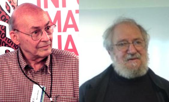Figura 11. Marvin Minsky (izquierda) y Seymourt Papert. Fuente.