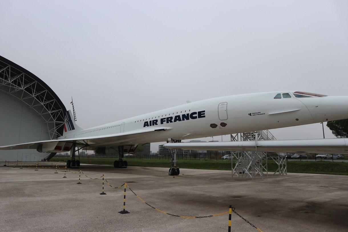 Figura 1: El Concorde, orgullo de la aviación europea Imagen de Metropolitaneando en Pixabay
