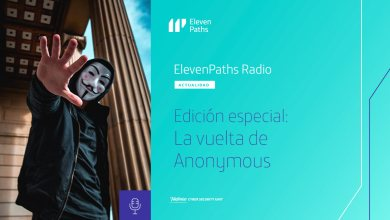 ElevenPaths edicion especial Anonymous