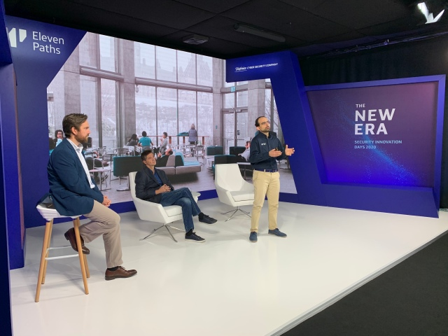 Vicente Segura junto a Alberto Sempere y Miguel Ángel Pérez Acevedo