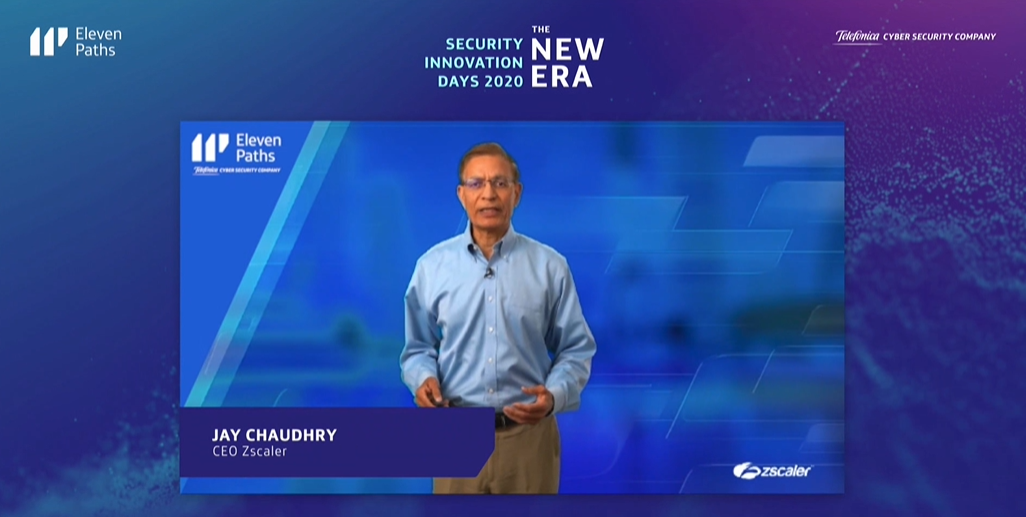 Jay Chaudhry, CEO Zscaler
