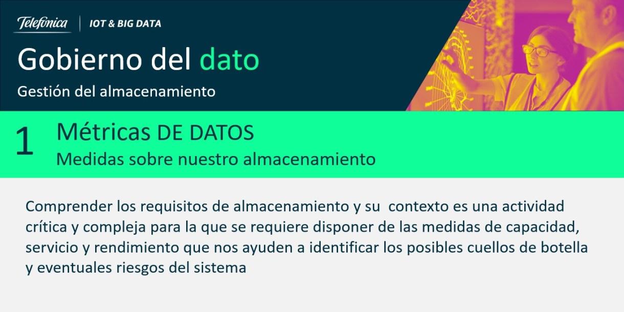 Figura 1: Métricas de datos