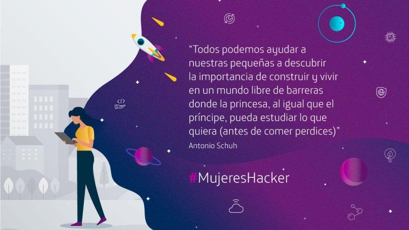 #MujeresHacker: érase una vez una princesa ingeniera