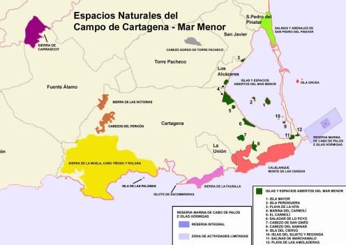 Figura 1: Espacios Naturales del Campo de Cartagena (Murcia)-Nanosanchez, Public domain)