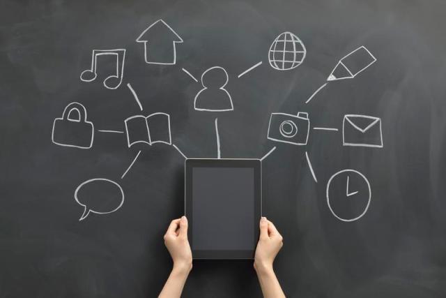 Figura 2: Ecosistema digital conformado por usuarios, servicios y cosas inteligentes generando valor en forma de datos