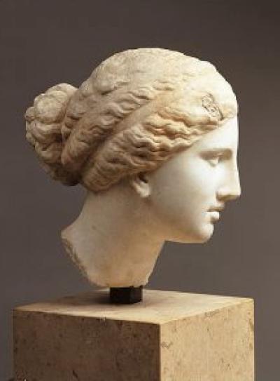 Figura 1. Busto de Téano. Fuente.