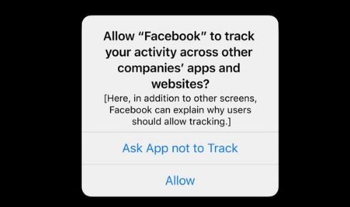 Transparencia de Apple ante Facebook