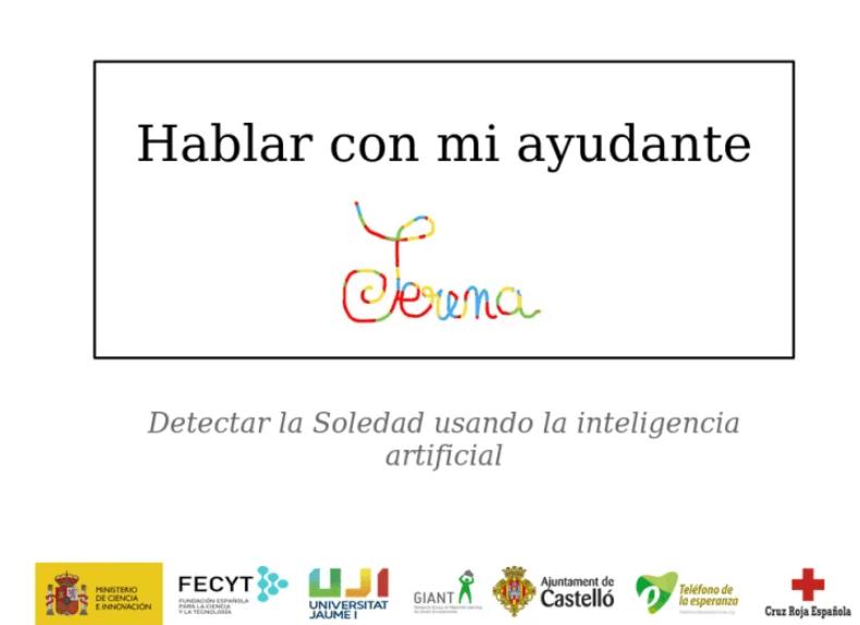 "Figura 3: Plataforma web ""Habla con Serena"""