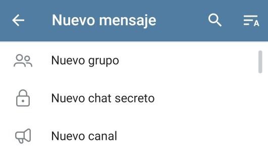 Nuevo canal en Telegram