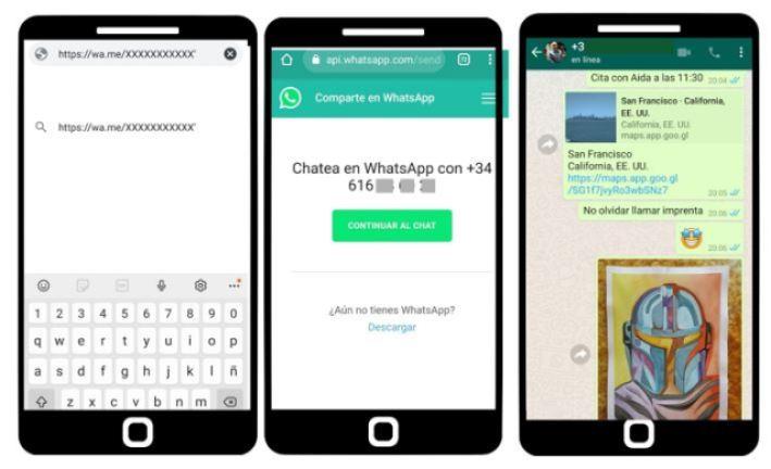 Chatear con uno mismo en Whatsapp
