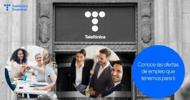 Ofertas de empleo de Telefónica
