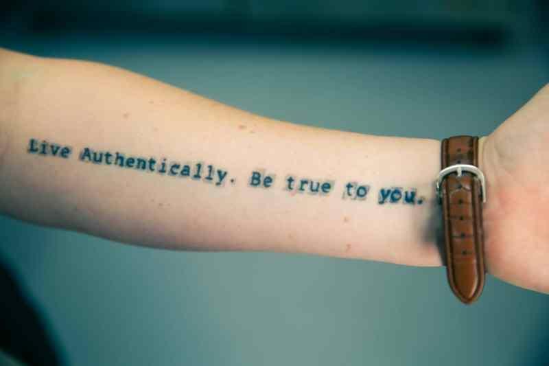 El valor de la autenticidad