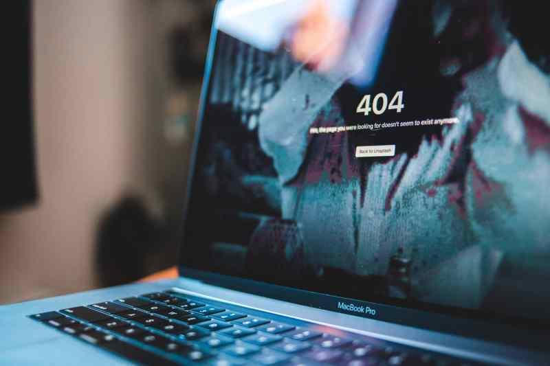 Errores web más frecuentes